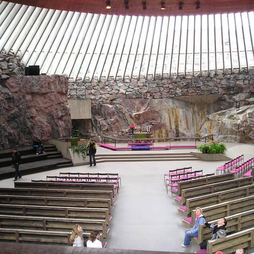 ทัวร์ยุโรป เดนมาร์ก นอร์เวย์ สวีเดน ฟินแลนด์ โบสถ์เทมโปลิโอคิโอ
