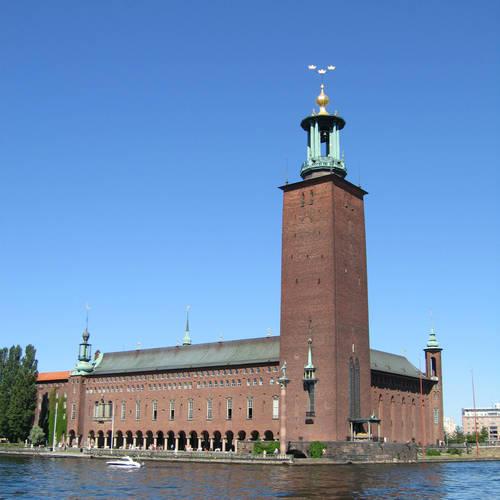 ทัวร์ยุโรป เดนมาร์ก นอร์เวย์ สวีเดน ฟินแลนด์ ศาลาว่าการเมืองสต็อคโฮล์ม / ศาลากลางจังหวัด