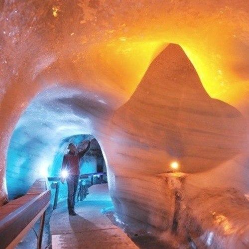 ทัวร์ฝรั่งเศส อิตาลี สวิส ฝรั่งเศส ถ้ำน้ำแข็ง ( ทิตลิส )