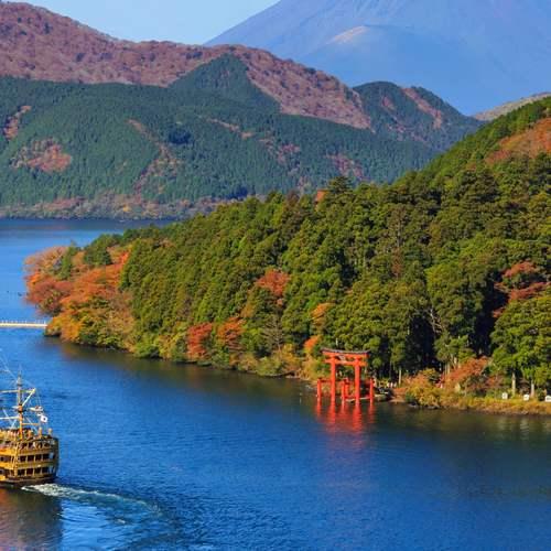 ทัวร์ญี่ปุ่น โตเกียว โอซาก้า ทะเลสาบอาชิ