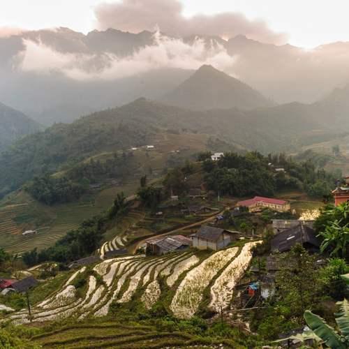 ทัวร์เวียดนาม ฮานอย ซาปา  หมู่บ้านกั๊ตกั๊ต