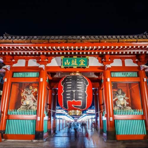 ทัวร์ญี่ปุ่น โตเกียว ประตูฟ้าคำรณ