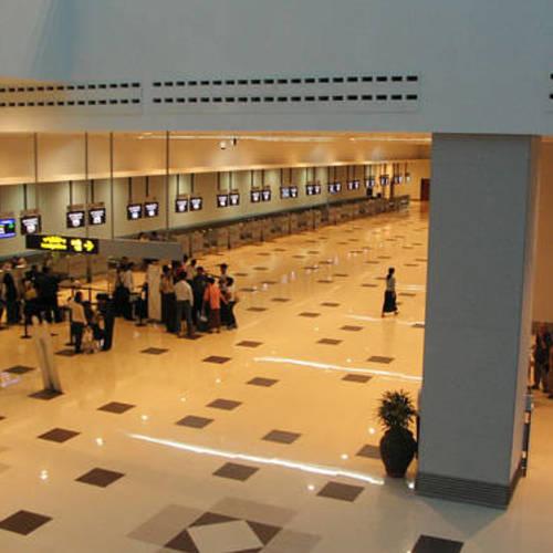 ทัวร์พม่า ย่างกุ้ง หงสา  สนามบินมิงกาลาดง