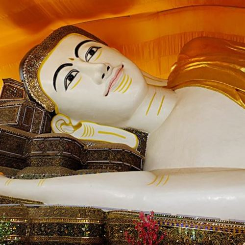 ทัวร์พม่า ย่างกุ้ง พระพุทธไสยาสน์ชเวตาเลียว
