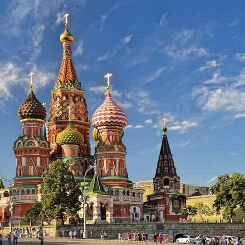 ทัวร์รัสเซีย รัสเซีย  วิหารเซนต์บาซิล