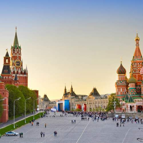 ทัวร์รัสเซีย รัสเซีย  จัตุรัสแดง