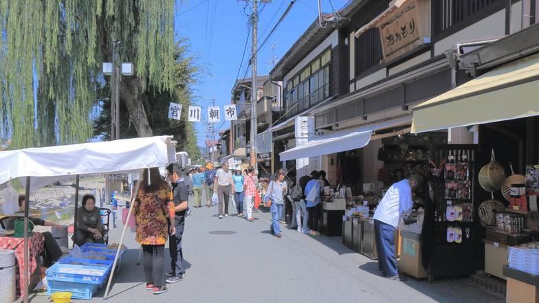 ตลาดเช้าเมืองทาคายาม่า