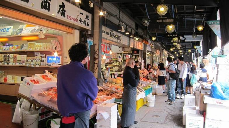 ตลาดปลานิโจ ซับโปโร