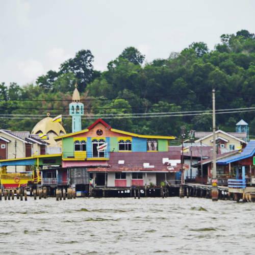ทัวร์บรูไน บรูไน กัมปงไอเยอร์ - หมู่บ้านกลางน้ำ