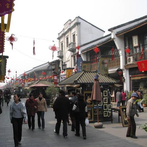 ทัวร์จีน เซี่ยงไฮ้ +หลายเมือง ถนนโบราณเหอฝั่งเจีย