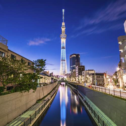 โตเกียวสกายทรี ทัวร์ญี่ปุ่น
