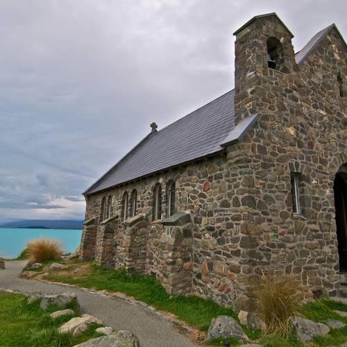 ทัวร์นิวซีแลนด์ นิวซีแลนด์ โบสถ์ Good Shepherd