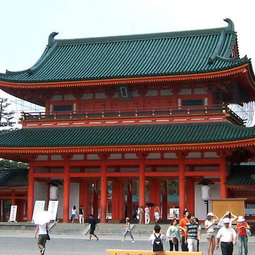 ทัวร์ญี่ปุ่น โอซาก้า โตเกียว ศาลเจ้าเฮย์อัน
