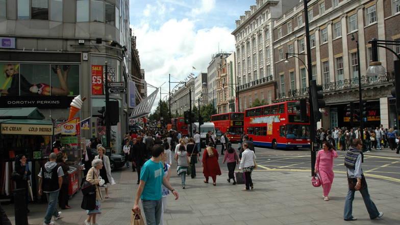 ถนนอ็อกฟอร์ด ลอนดอน
