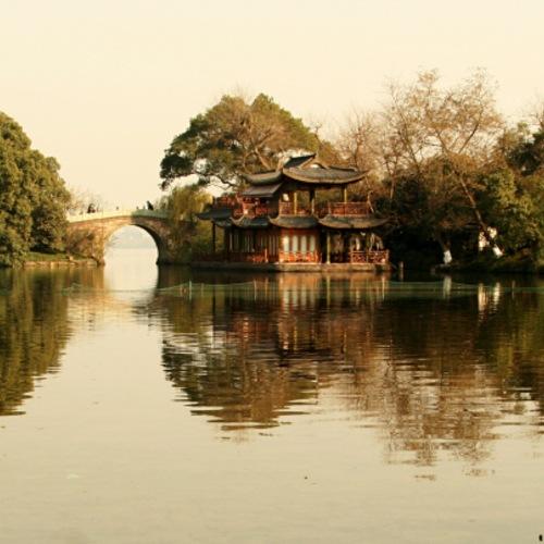ทัวร์จีน เซี่ยงไฮ้ ล่องเรือทะเลสาบซีหู