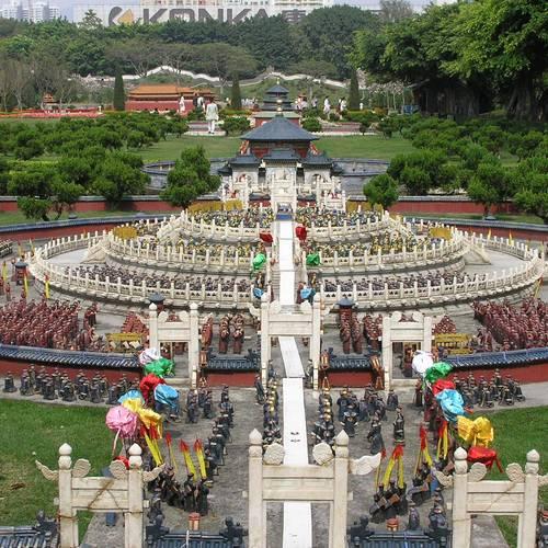 ทัวร์ฮ่องกง ฮ่องกง +หลายเมือง หมู่บ้านวัฒนธรรม เมืองเซินเจิ้น