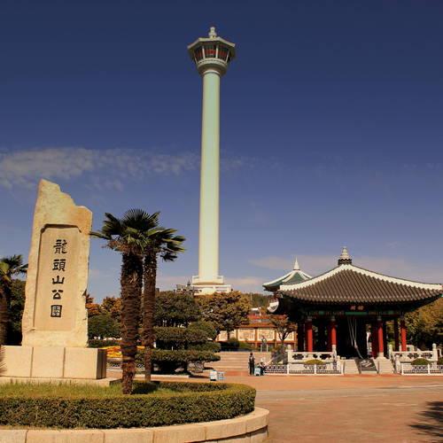 ทัวร์เกาหลี พูซาน สวนสาธารณะยงดูซาน