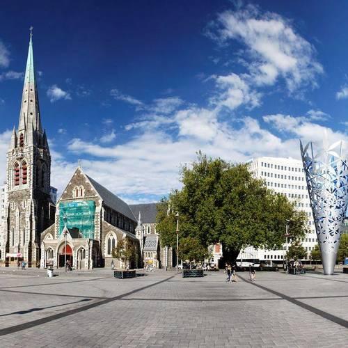 ทัวร์นิวซีแลนด์ นิวซีแลนด์ เมืองไคร้สท์เชิร์ช