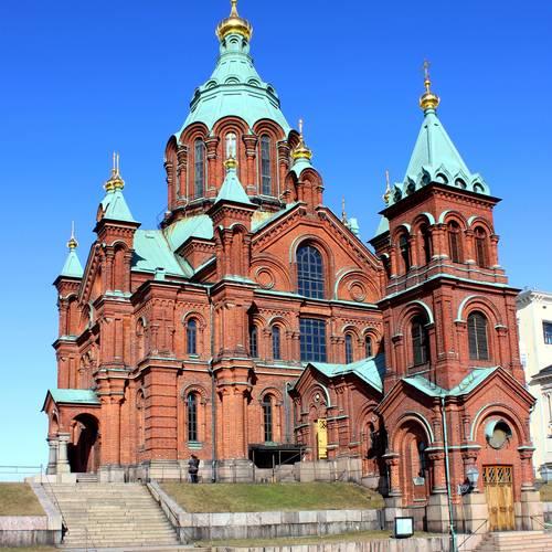 ทัวร์ยุโรป เดนมาร์ก นอร์เวย์ สวีเดน ฟินแลนด์ โบสถ์อุสเพนสกี้ / วิหารอุสเพนสกี