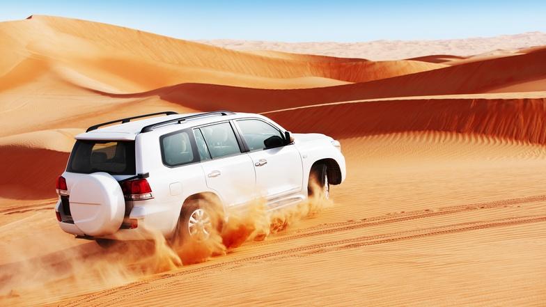 4WD ตะลุยเนินทราย