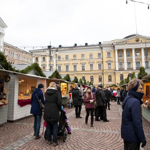 ทัวร์ยุโรป เดนมาร์ก นอร์เวย์ สวีเดน ฟินแลนด์ Market Square finland