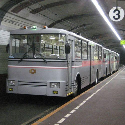 ทัวร์ญี่ปุ่น โอซาก้า โตเกียว TROLLEY BUS