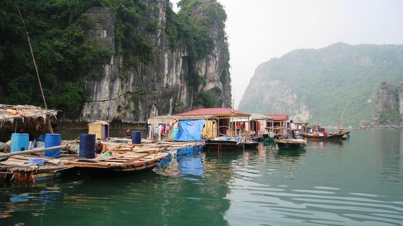 หมู่บ้านชาวประมง เวียดนาม