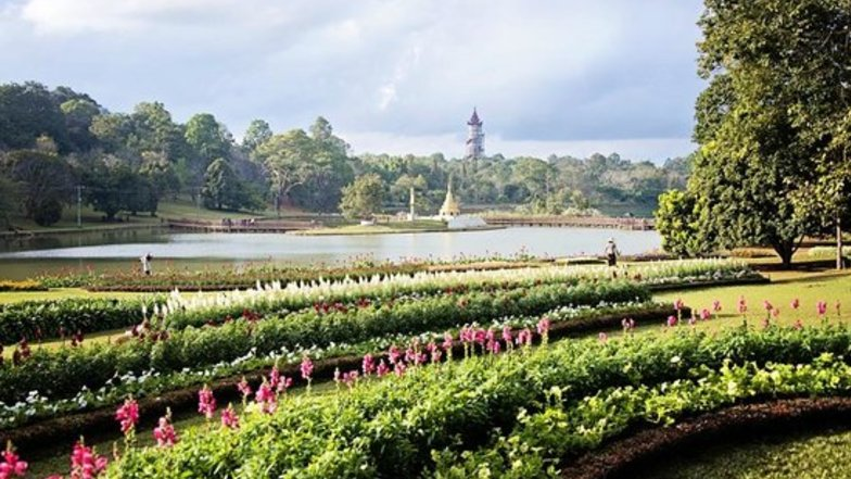 สวนพฤกษศาสตร์แห่งชาติกันดอว์จี