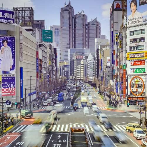 ทัวร์ญี่ปุ่น โตเกียว ชินจูกุ