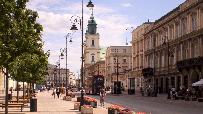 ถนน Krakowskie Przedmiescic