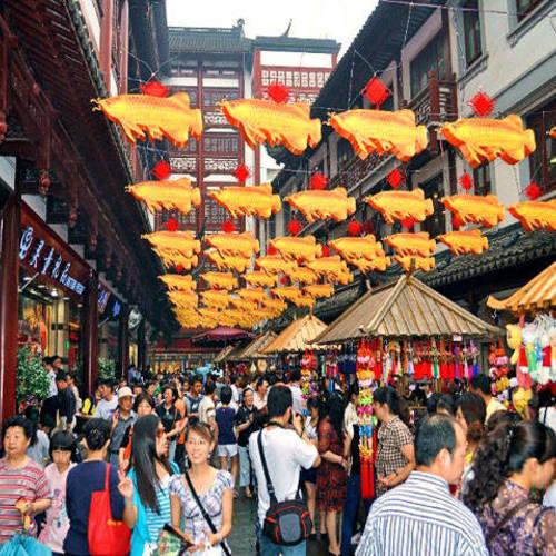 ทัวร์จีน เซี่ยงไฮ้ +หลายเมือง ตลาดเฉินหวังเมี่ยว