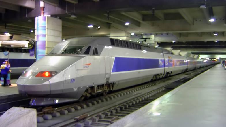 รถไฟTGV