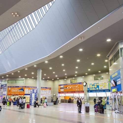ทัวร์ญี่ปุ่น โอซาก้า ทาคายาม่า สนามบินคันไซ หรือ สนามบินโอซาก้า
