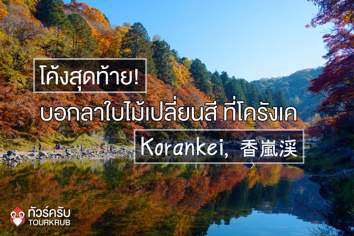 """โค้งสุดท้าย บอกลาใบไม้เปลี่ยนสีที่ """" โครังเค """" (Korankei, 香嵐渓)"""