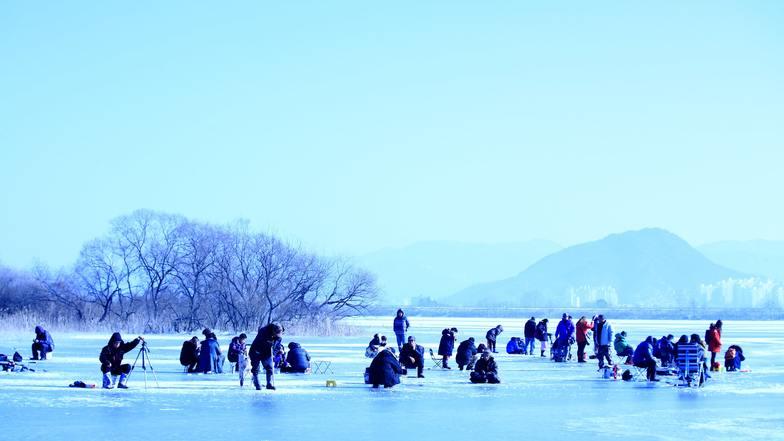 ทัวร์เกาหลี กรุงโซล 5 วัน 3 คืน ร่วมฉลองเทศกาลตกปลาน้ำแข็ง1ปีมีครั้ง อิสระเล่นสกี ณ ลานสกีขนาดใหญ่ บิน ไทยแอร์เอเชียเอกซ์