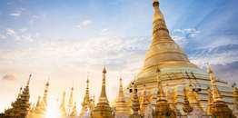 ทัวร์พม่า ย่างกุ้ง 1 วัน พระมหาเจดีย์ชเวดากอง สักการะพระพุทธรูปงาทัตจี บิน SL