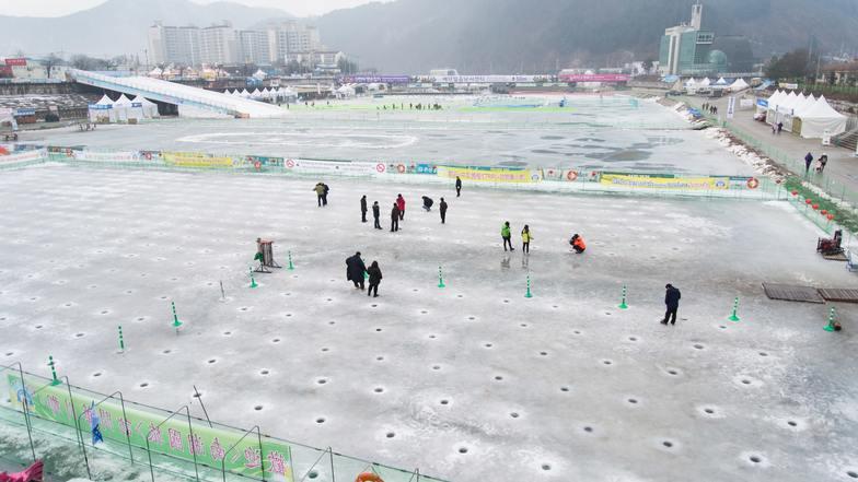 ทัวร์เกาหลี กรุงโซล 5 วัน 3 คืน เทศกาลตกปลาน้ำแข็ง อิสระเล่นสกี บิน Eastar Jet