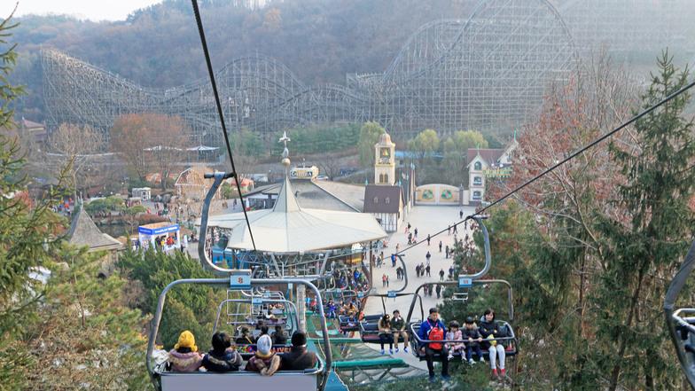 ทัวร์เกาหลี กรุงโซล 6 วัน 3 คืน สวนสนุกเอเวอร์แลนด์ หมู่บ้านเทพนิยาย บิน ไทยแอร์เอเชียเอกซ์