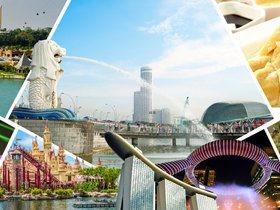 ทัวร์สิงคโปร์ 3 วัน 2 คืน ชมน้ำพุแห่งความมั่งคั่ง พิพิธภัณฑ์สัตว์น้ำ S.E.A. Aquarium บิน SQ สิงคโปร์