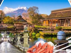 ทัวร์ญี่ปุ่น โตเกียว นาริตะ 5วัน3คืน ฟูจิเท็นสกีรีสอร์ท  หมู่บ้านโอชิโนะฮัคไค  TZ โตเกียว Top seller เที่ยววันหยุด มาฆบูชา ทัวร์ญี่ปุ่น ราคาถูก