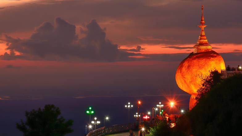 ทัวร์พม่า ย่างกุ้ง หงสา 3 วัน 2 คืน พระธาตุอินทร์แขวน มหาเจดีย์ชเวดากอง บิน Thai AirAsia
