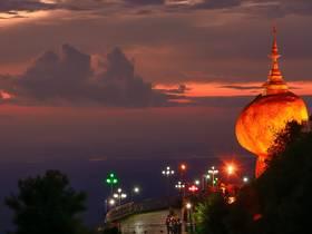 ทัวร์พม่า ย่างกุ้ง หงสา 3 วัน 2 คืน พระธาตุอินทร์แขวน มหาเจดีย์ชเวดากอง บิน FD ย่างกุ้ง หงสา
