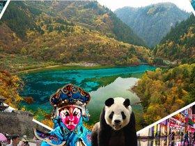ทัวร์จีน เฉินตู  จิ่วจ้ายโกว 5 วัน 4 คืน อุทยานโหมวหนีโกว  อุทยานแห่งชาติจิ่วจ้ายโกว บิน 3U เฉินตู จิ่วจ้ายโกว +หลายเมือง Top seller ทัวร์ราคาสุดคุ้ม