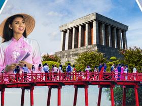 ทัวร์เวียดนาม ฮานอย ฮาลอง 3 วัน 2 คืน พิพิธภัณฑ์โฮจิมินห์ สะพานแสงอาทิตย์ บิน FD ฮานอย ฮาลอง แพ็คเกจทัวร์ขายดี Top seller ทัวร์ต้อนรับวันปีใหม่
