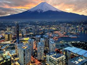 ทัวร์ญี่ปุ่น โอซาก้า  โตเกียว 5 วัน 3 คืน ลานสกี ฟูจิเท็น ภูเขาไฟฟูจิ ชาซากุระ บิน XJ โอซาก้า โตเกียว ทัวร์สกีรีสอร์ท