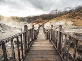 ทัวร์ญี่ปุ่น ฮอกไกโด 6 วัน 4 คืน นั่งกระเช้าชมวิว ภูเขาไฟอุสุซาน  ลิงแช่ออนเซ็น บิน HB ฮอกไกโด วันจักรี ทัวร์ฮอกไกโด