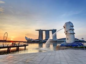 ทัวร์สิงคโปร์ 3 วัน 2 คืน  Merlion Park น้ำพุแห่งความมั่งคั่ง บิน  SQ สิงคโปร์
