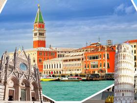 ทัวร์อิตาลี เวนิส นครวาติกัน 7 วัน 4 คืน มหาวิหารเซนต์ปีเตอร์ จัตุรัสซานมาร์โค  บิน EK อิตาลี เที่ยวช่วงปิดเทอมฤดูร้อน ทัวร์ราคาสุดคุ้ม