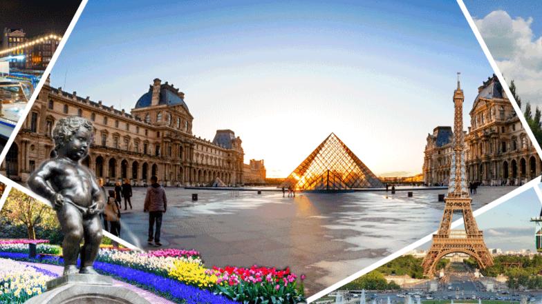 ทัวร์ยุโรป ฝรั่งเศส เบลเยี่ยม ลักเซมเบิร์ก เนเธอร์แลนด์ เยอรมัน 8 วัน 5 คืน งานเทศกาลดอกไม้ KEUKENHOF  บิน Etihad Airways