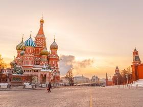 ทัวร์รัสเซีย มอสโคว์ 8 วัน 6 คืน ยอดเขาสแปร์โรว์ฮิล นั่งรถไฟด่วนSAPSAN EXPRESS TRAIN  บิน KC รัสเซีย  วันจักรี